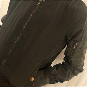 Jackets & Coats - Green women's Bomber Jacket